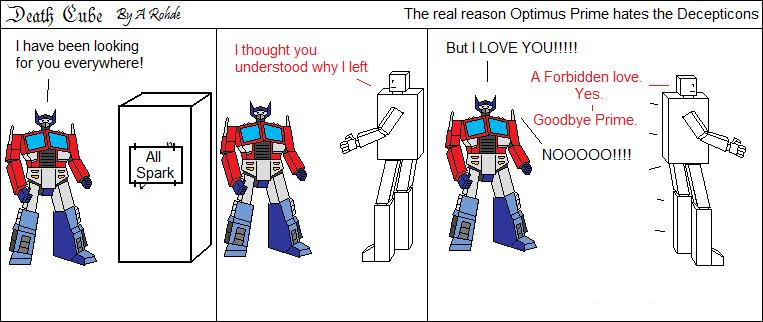 The real reason Optimus Prime hates the Decepticons