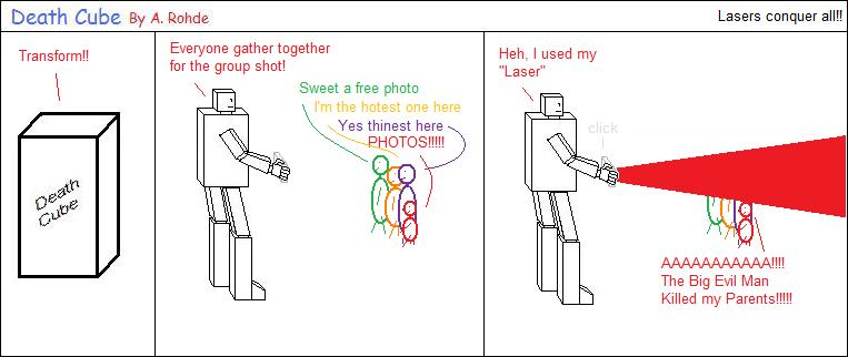 Lasers conquer all!!